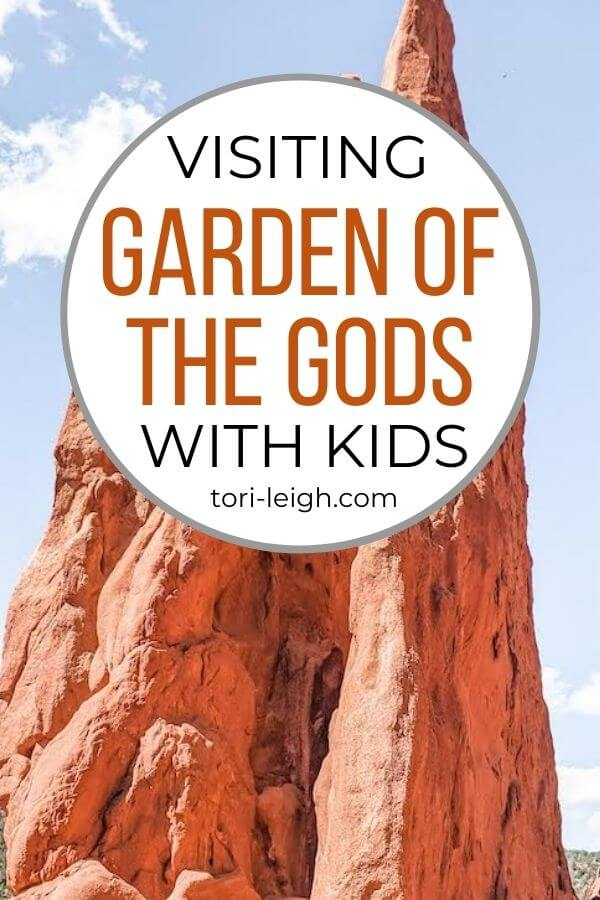 visiting garden of the gods with kids